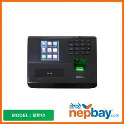 zkteco Fingerprint Attendance System_MB10