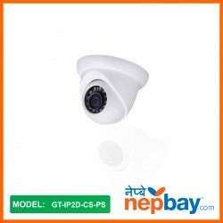 Gipal IP CCTV Camera With POE_GT-IP2D-CS-PS
