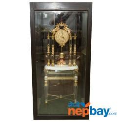Designer Golden Heavy Clock Set With Roman Digits