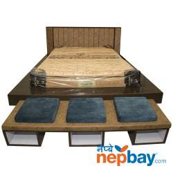 "Kingkoil Sure-Sleep Mattress 8"" + Mattress Protector + 2 Pcs. Pillow - 72"" x 78"""