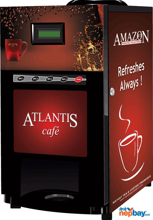 Tea/coffee vanding machine