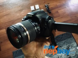 Canon 600D with lens Tamron di ii 18-270
