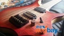 Nk headless Guitar with a Gig bad