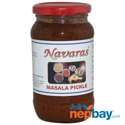 Navaras Masala Pickle 400g