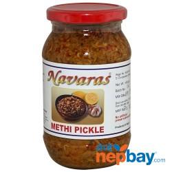 Navaras Methi Pickle 400g