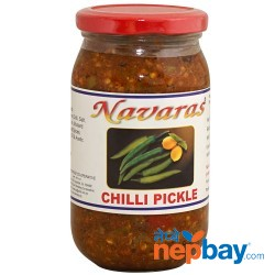 Navaras Chilli Pickle 400g
