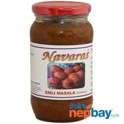Navaras Seedless Emli Masala Pickle 450g