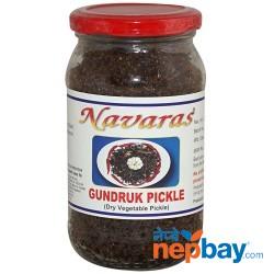 Navaras Gundruk Pickle (Dry Vegetable Pickle) 200g