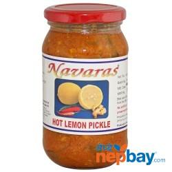 Navaras Hot Lemon Pickle 400g
