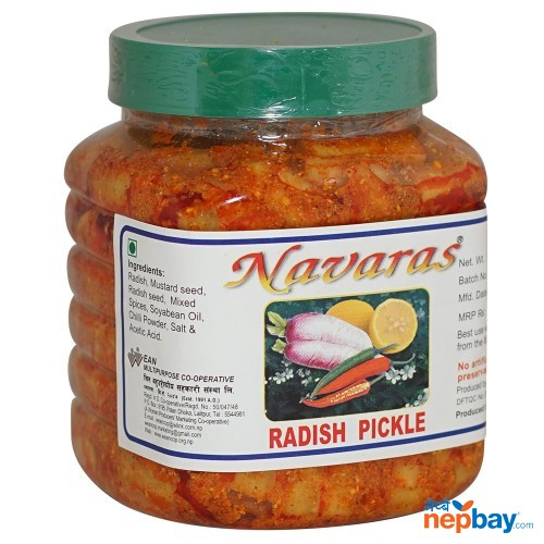 Navaras Mixed Pickle 1200g
