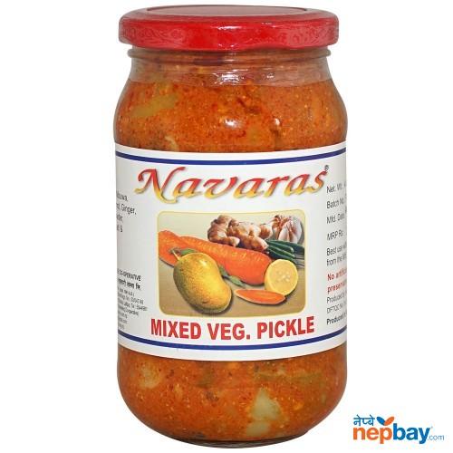 Navaras Mixed Veg Pickle 400g