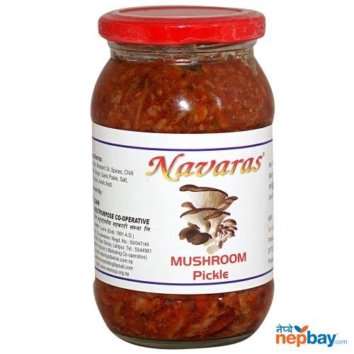 Navaras Mushroom Pickle 400g