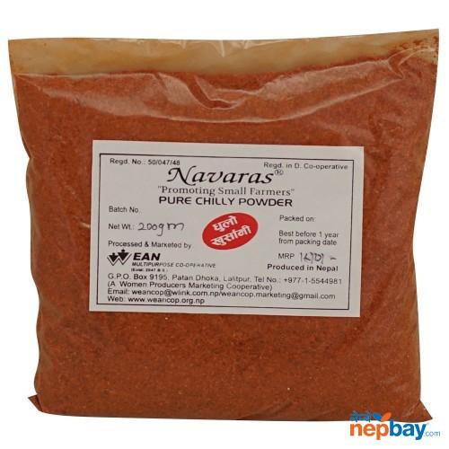 Navaras Pure Chilli Powder 200g