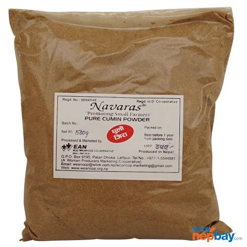 Navaras Pure Cumin Powder 500g