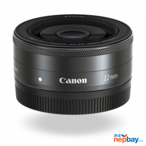 EF M 22mm F/2.0 Lens. Moderate wide angle lens