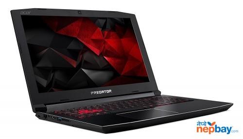 Acer Predator Helios 300 8th Gen Core i7-8750H 2.20GHz Turbo 4.10GHz CPU 8GB DDR4 256GB SSD+1TB HDD 15.6-inch Full HD IPS Display GeForce GTX 1060 6GB DDR5 Graphics Gaming/Video Editing Lapto