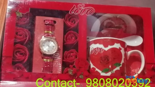 Valentine Cup Watch combo