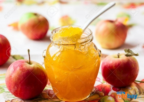 Organic apple jam