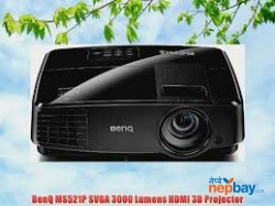 Benq Ms521p Dlp Projector On Hire (per Day Rental Charge)