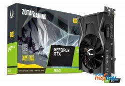ZOTAC Gaming GeForce GTX 1650 OC 4GB GDDR5 128-Bit Graphics Card