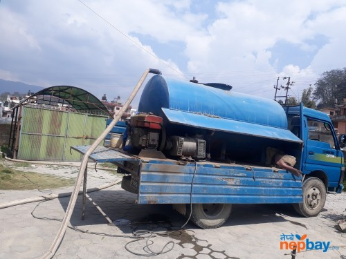 Drainage and septic tank cleaning service ktm