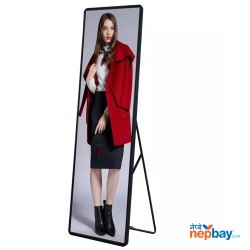 Portable Indoor Floor Standing P2.5 Led Standee Poster Display