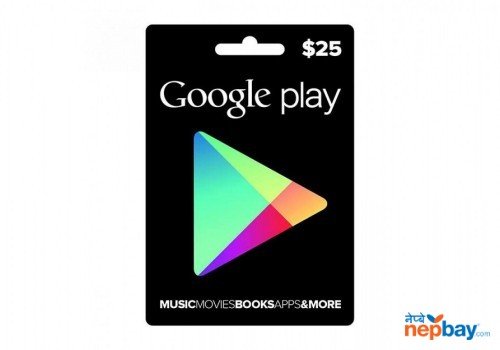 Google Play Gift Card ($25) - Email Delivery