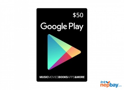 Google Play Gift Card ($50) - Email Delivery