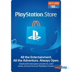 PlayStation Store Gift Card ($50) - Email Delivery