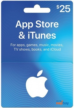 App Stores & iTunes Gift Card ($25) - Email Delivery