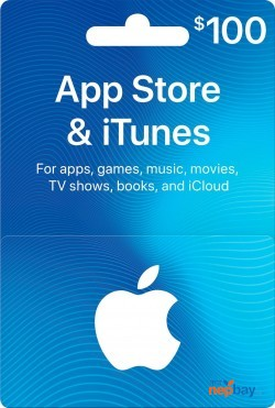 App Store & iTunes Gift Card ($100) - Email Delivery
