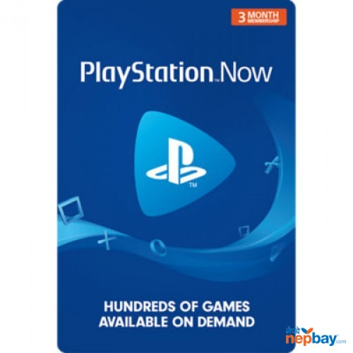 PlayStation Now Gift Card (3 Month Membership) - Email Delivery