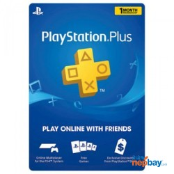 PlayStation Plus Gift Card (1 Month Membership) - Email Delivery