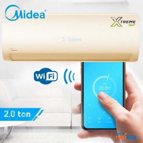 Midea Dc Inverter Wall Mounted 2.0 Ton Air Conditioner