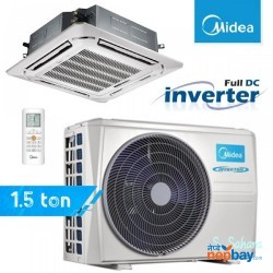 Midea Dc Inverter Ceiling Cassette 1.5 Ton Air Conditioner