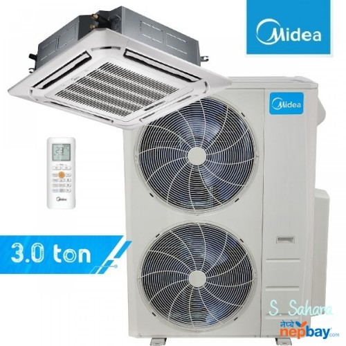 Midea Ceiling Cassette 3.0 Ton Air Conditioner