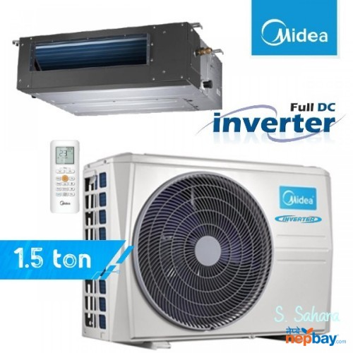 Midea Dc Inverter Ductable 1.5 Ton Air Conditioner