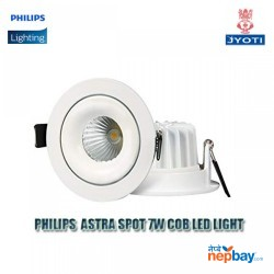 Philips 7W COBb LED Spot 6500 – 7W COB LEDSPOT CDL Brand:PHILIPS Wattage:7 Watts Number of Items:1 Colour:Cool Day White Shape:Round Cut out: 81mm Material:Metal Number of Lights:1 Included