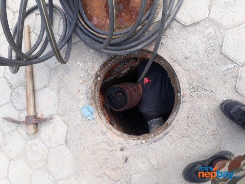 Dhal jaam toilet jaam mangol safa safety tank cleaning service