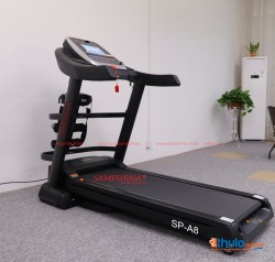 Multi-function A8 Treadmill with Massager Belt Folding
