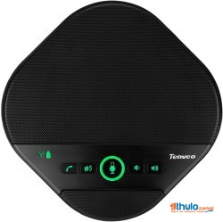 Bluetooth Portable Speakerphone Speaker for Business Conference Microphone Skype, Webinar, Phone, Echo Cancellation Microphone Self-Adaptive Android & Apple Compatible(TEVO-A3000/A3000B)