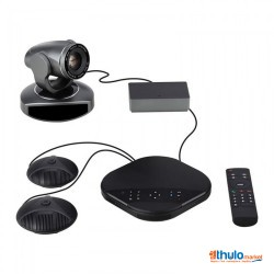 2MP video conferencing system with 10x zoom, video conferencing system, loudspeaker and broadcast hub (TEvO-VA3000E)