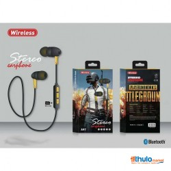 Gaming Wireless Bluetooth Stereo Earphone A07 , A08 , A09 , A10 Waterproof , Super Bass Rechargeable