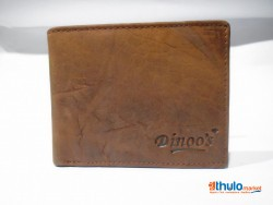 100% Genuine Soft Leather RFID protected Brown Men's Wallet