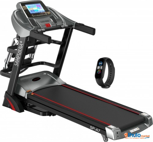 """Multi Function 10.1""""touch Screen Treadmill:android Smart System:5 years warranty"""