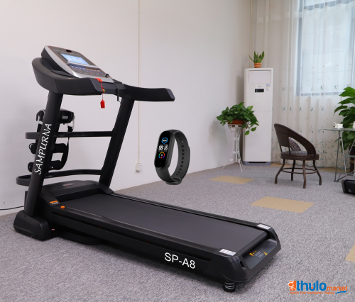 """Multi Function 10.1""""touch Screen Treadmill:android Smart System: 5 years Warranty"""