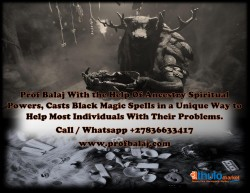 Powerful Black Magic Expert| Traditional Healer With Distance Healing Powers Call +27836633417