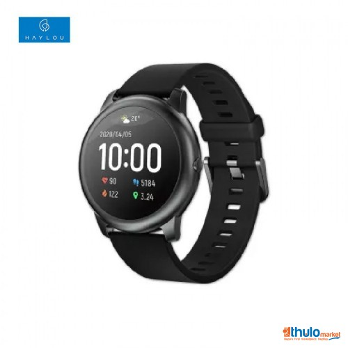 Haylou Solar LS05 Waterproof with Heart Rate Monitor Smart Watch for iOS & Android