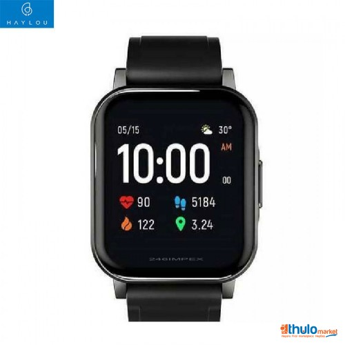 Haylou LS02 Smartwatch 2, HD Touch Color Screen 2.5D