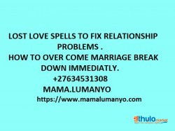 MAGIC SPELLS THAT BRING LOST LOVER FOR SALE +27634531308
